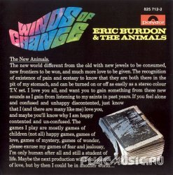 Eric Burdon & The Animals - Winds Of Change (1967)