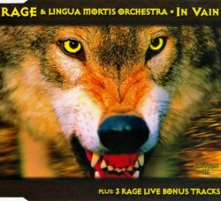 Rage and Lingua Mortis Orchestra - In Vain - Edition III [CDS] (1998)