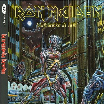 Iron maiden somewhere in time tardis