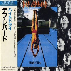Def Leppard - High 'n' Dry (1981) [Japan]
