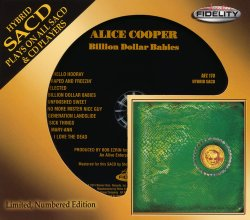 Alice Cooper - Billion Dollar Babies (1973) [Audio Fidelity 24KT+ Gold, 2014]
