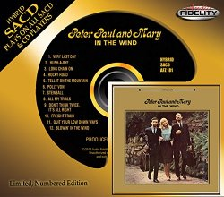 Peter, Paul And Mary - In The Wind (1963) [Audio Fidelity 24KT+ Gold, 2014]