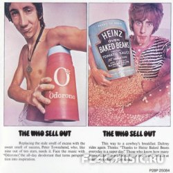 The Who - The Who Sell Out (1967) [Japan 1st press, 1988]