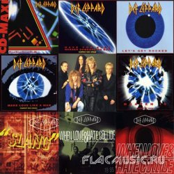Def Leppard - Singles Collection (1988-1996) [8CD's+Bonus]