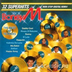 Boney M - The Best Of 10 Years: 32 Superhits Non Stop-Digital Remix (1986)