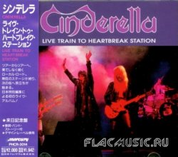 Cinderella - Live Train To Heartbreak Station (1991) [Japan]