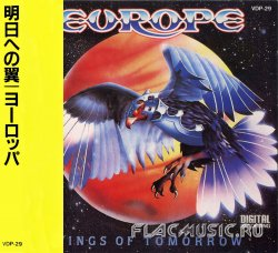 Europe - Wings Of Tomorrow (1984) [Japan]
