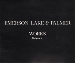 Emerson, Lake & Palmer - Works Volume 1 [2CD] (1987) [Japan]