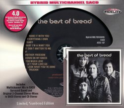 Bread - The Best Of Bread (1973) [Audio Fidelity 24KT+ Gold, 2015]