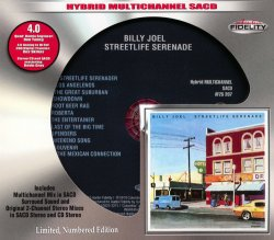 Billy Joel - Streetlife Serenade (1974) [Audio Fidelity 24KT+ Gold, 2015]