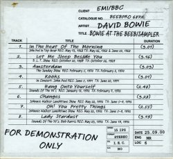 David Bowie - Bowie At The Beeb - Sampler (2000)