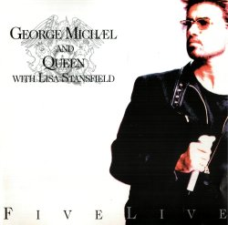George Michael and Queen with Lisa Stansfield - Five Live (1993)