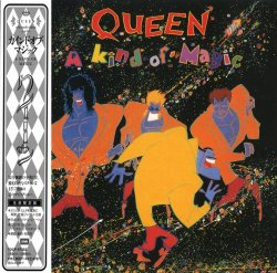 Queen - A Kind Of Magic (1986) [Japanese Remastered 2004]