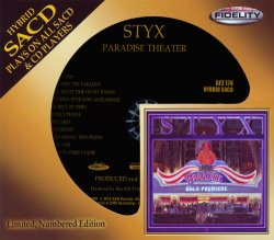Styx - Paradise Theater (1980) [Audio Fidelity 24KT+ Gold, 2014]