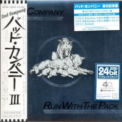Bad Company - Run With The Pack (2010) [Japan]