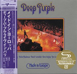 Deep Purple - Made In Europe (1976) [Japan, SHM-CD 2008]