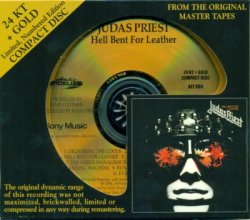 Judas Priest - Hell Bent For Leather (1979) [24K+Gold HDCD]