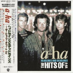 A-HA - Headlines And Deadlines: The Hits Of A-Ha (1991) [Japan]