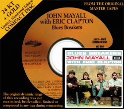 John Mayall with Eric Clapton - Blues Breakers (1966) [Audio Fidelity 24KT+ Gold, 2009]