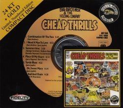 Big Brother & The Holding Company - Cheap Thrills (1968) [Audio Fidelity 24KT+ Gold, 2012]